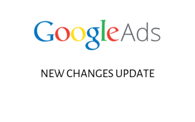 Google Ads New Changes